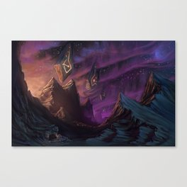 On The 7th Night Canvas Print
