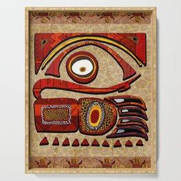 Chu Mtu African Folk Art Serving Tray