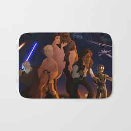 I grew up with a new hope Bath Mat