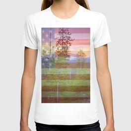 """"""" God Bless America """" T-shirt"""