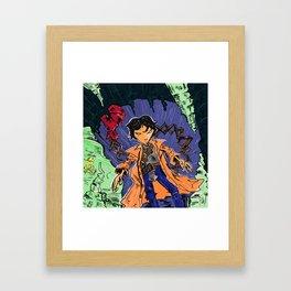 Goonies Data Framed Art Print