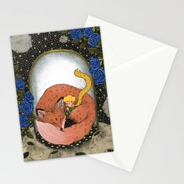The little prince - Red Version Stationery Cards