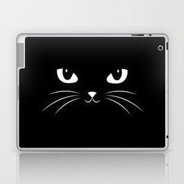 Cute Black Cat Laptop & iPad Skin