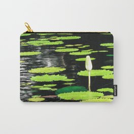Leaves in Pond Carry-All Pouch