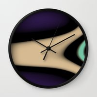 gamer Wall Clocks featuring Gamer by Fine2art