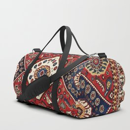 Qashqa'i  Antique Fars Persian Tribal Rug Duffle Bag