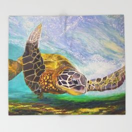 For the love of Michael Angelo Throw Blanket