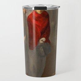 """Théophile Steinlen """"Trottins; Le retour de l'atelier"""" Travel Mug"""