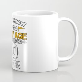 Birthday Gift 50 Years Fifty Born 1968 Coffee Mug