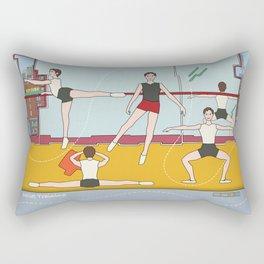 Schol Ballet Training Rectangular Pillow