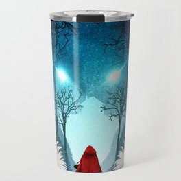 Big Bad Wolf (light version) Travel Mug