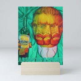 Vintage Green Fairy Absinthe Aperitif Vincent van Gogh Lithograph Advertisement Poster Mini Art Print