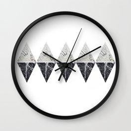 marble shape duplicates Wall Clock