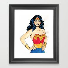 Wonder  Framed Art Print