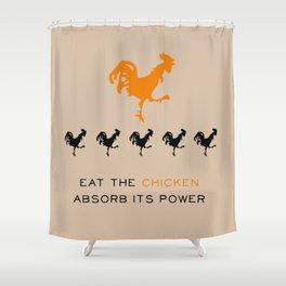Smarter Chicken - Orange is the New Black Shower Curtain