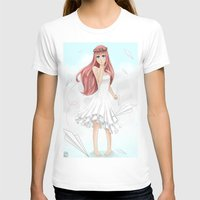 vocaloid T-shirts featuring Luka Mergurine by Rinneii