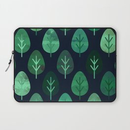 Watercolor Forest Pattern #9 Laptop Sleeve