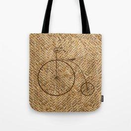 Wicker Pennyfarthing Tote Bag
