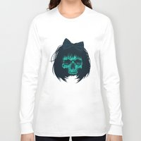 bow Long Sleeve T-shirts featuring Hair bow by Roland Banrevi