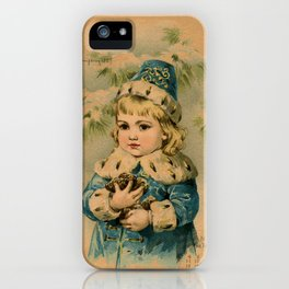 Russian Girl Maud Humphrey iPhone Case