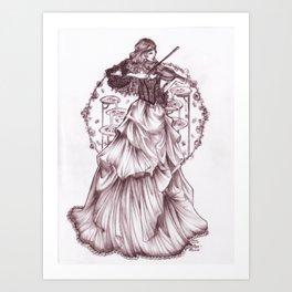 belle of the boulevard Art Print