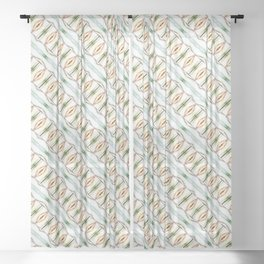 Frost Abstract Sheer Curtain
