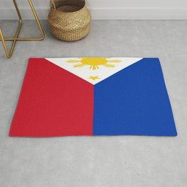 Flag of Philippines -Pilipinas,Filipinas,filipino,pinoy,pinay,Manila,Quezon Rug