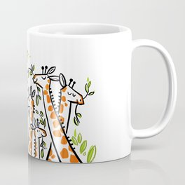 Giraffe Banquet Coffee Mug