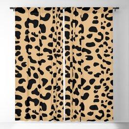 Leopard print - Earth Blackout Curtain