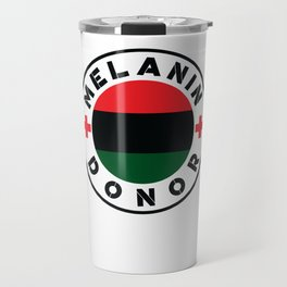 Black History Month African American Black Pride Shirt Light Travel Mug