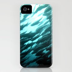 Thousands of jack fish iPhone (4, 4s) Slim Case