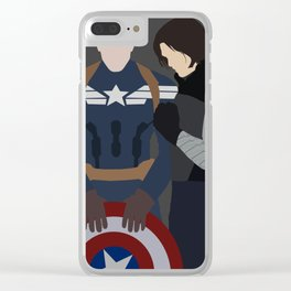 End of The Line. Clear iPhone Case