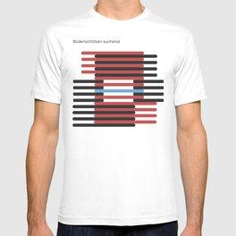 bodenschätzen suchend T-shirt