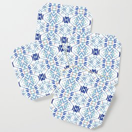 Asian Blue - inspired by Japanese textiles Coaster