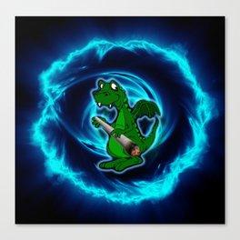 Dragon Toker Canvas Print