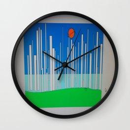 Sunset White Wall Clock
