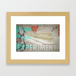 HMK Tibor Everything Experiment Framed Art Print