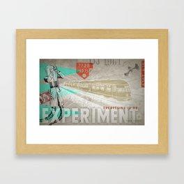 HMK Tibor Everything Experiment Framed Art Print