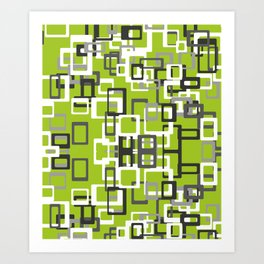 Square Pops Art Print