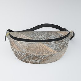 Wood Grain Texture Fanny Pack
