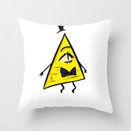 Bill Schiffer - The secret of Gravity Falls (c1) Throw Pillow
