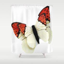 3D Butterfly Shower Curtain