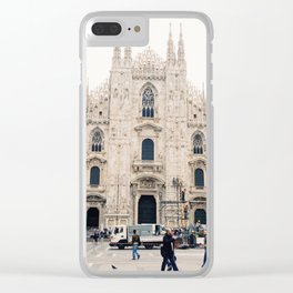 Italy Milan Photography Art Decor Wall Art Home Decor Square Prints Clear iPhone Case