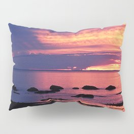 Sunset on the Mighty St-Lawrence Pillow Sham
