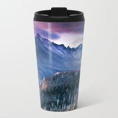 Rocky Mountains Metal Travel Mug