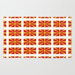 Flag of Macedonia 2 - Macedonian,skopje,Bitola,Kumanovo,Prilep,Balkan,Alexander the great,Karagoz Rug
