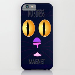 """No Stress Magnet"" iPhone Case"