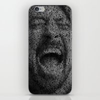 dave grohl iPhone & iPod Skins featuring Dave Grohl. Best Of You by Robotic Ewe