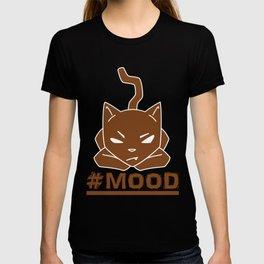 #MOOD Cat Brown T-shirt
