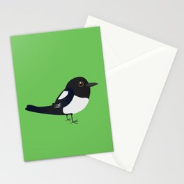 Cute magpie Stationery Cards